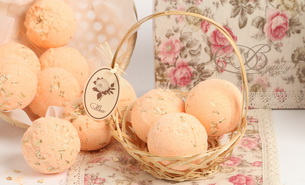 Beauty Shop Bath bomb Grapefruit 305x185